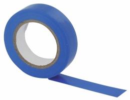 Ruban adhésif isolant - 15 mm x 10 M - Bleu - DHOME