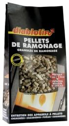 Entretien conduits et foyers - Pellets de ramonage - 1.5 kg - DIABLOTIN