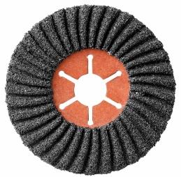 Disque abrasif semi-flexible - Carbure de silicium - Grain 36 - 115 x 22 mm - SCID