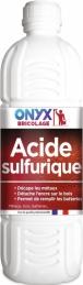 Acide sulfurique décapant / dégraissant - 1 L - ONYX