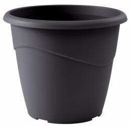 Pot à fleurs - Rond - Marina - Gris - 23 L - EDA