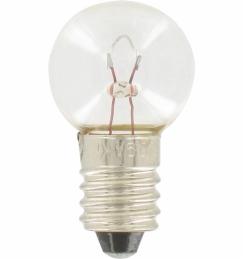 Ampoule culot E10 - 6 V - 0,9 A - 5.5 W - Lot de 10 - LEGRAND