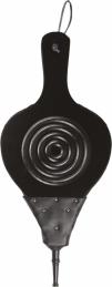 Soufflet en bois et simili cuir - 45 cm - PVM