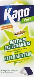 2 pièges à mites - Mites des vetements - 12 semaines - KAPO