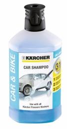 Shampoing auto 3 en 1 - Détergent - 1 L - KARCHER
