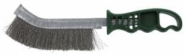 Brosse de ponçage universelle - Fils ondulés - Inox - 265 mm - SCID