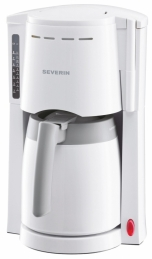 Cafetière isotherme - 800 Watts - 1 L - Blanc - KA 4114 - SEVERIN
