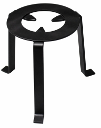 Trépied pour cheminée - Noir - 15 cm