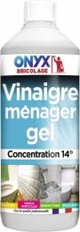 Vinaigre Menager 14% en gel - 1L - ONYX