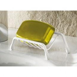Porte savon plastifié blanc - GODONNIER