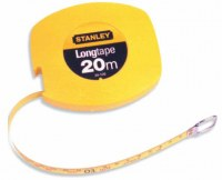 Mètre ruban acier Longtape Classe II - 20 M - STANLEY