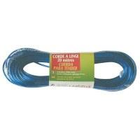 Corde à linge plastifié 20 M + tendeur