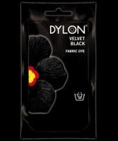 Sachet de teinture pour tissus à la main - Noir - 50 Grs - DYLON