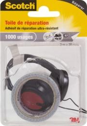 Toile adhésive de réparation - 3 M - Gris - SCOTCH