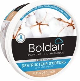 Destructeur d'odeur - Fleur de coton - Gel solide 300 gr - BOLDAIR