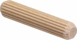Tourbillon en bois pour assemblage - 8 x 40 mm - Lot de 75 - SCID