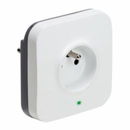 Prise mobile avec parafoudre pour branchement et protection box - LEGRAND