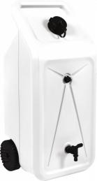 Jerrican plastique nomade - Sur roues - 50 L - EDA