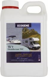 Liquéfiant pour WC portable ou broyeur - W7 - 2 L - ECOGENE