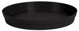 Soucoupe pour pot à fleur - Marina - Rond - 30 cm - Anthracite - EDA