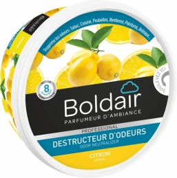 Destructeur d'odeur - Citron - Gel solide 300 gr - BOLDAIR