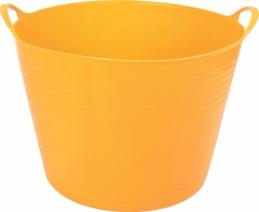 Panier de jardin souple - 40 L - Jaune miel - EDA