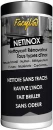 Lingettes nettoyantes pour Inox - NetInox - 36 lingettes - FACYL