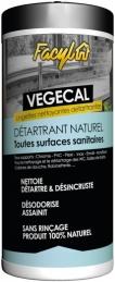 Lingettes détartrantes pour sanitaires - Vegetal - 36 lingettes - FACYL