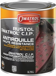 Primaire anticorrosion haute résistance - Rustol CIP - 750 ml - OWATROL