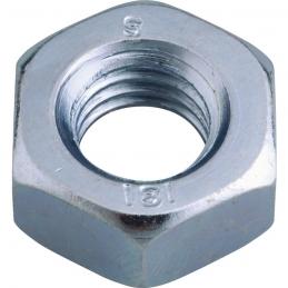 Écrou hexagonal - Classe 8 - Acier zingué - 20 mm - Boîte de 25 - VISWOOD