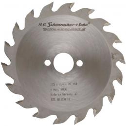 Lame de scie au carbure - Denture dentelée - 24 dents - Diamètre 160 - Alésage 20 - KWO