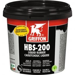 Caoutchouc liquide - Enduit de protection universel étanche - HBS-200 - 1 L - GRIFFON
