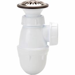 Combiné bonde/siphon urinoir à grille - NICOLL
