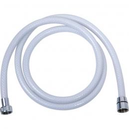 Flexible de douche tressé - Blanc - 1.5 M - SIDER