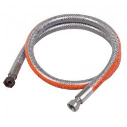 Tuyau flexible inox pour butane ou propane - 1.25 M - EUROGAZ