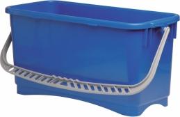 Seau de nettoyage - grande largeur - Bleu - 22 L - BROSSERIE MARCHAND