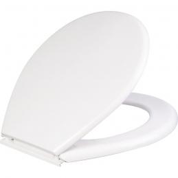 Abattant WC en polypropylène - Double - Luna 100 - Blanc - SIDER