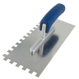 Platoir lame acier - Denture carrée - 10 x 10 mm - OUTIBAT