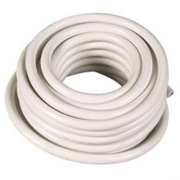Couronne de 50 M - Blanc - HO5 VV-F 1,5 mm²