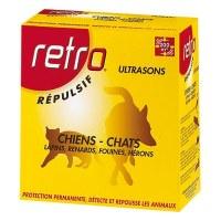 Répulsif ultrasons Chiens / Chats - RETRO