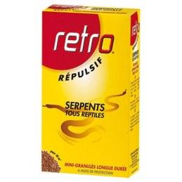 Répulsif serpents en granulés - 400 Grs - RETRO