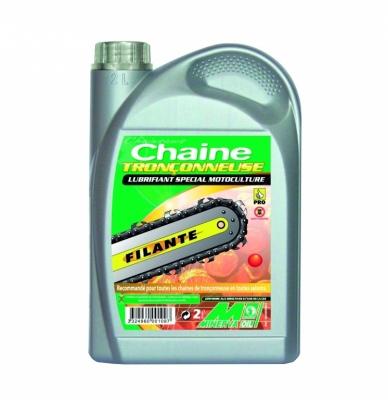 Huile pour chaîne de tronçonneuse filante - 2 L - MINERVA