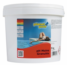 Correcteur de PH - en granulés - 5 kgs - PLANET POOL