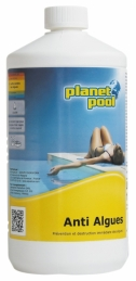 Anti-algues non moussant - Concentré- 1 L - PLANET POOL