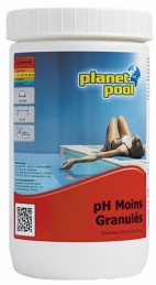 Correcteur de PH - en granulés - 1 kg - PLANET POOL
