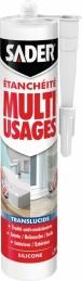Mastic d'étanchéité Multi-usages - Translucide - 280 ml - SADER