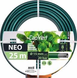 Tuyau d'arrosage Neo 3 couches - 19 x 25 M - CAP VERT