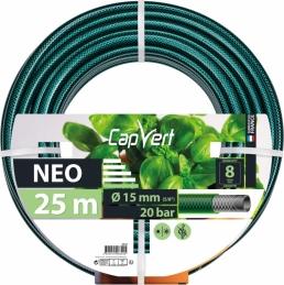 Tuyau d'arrosage Neo 3 couches - 15 x 25 M - CAP VERT