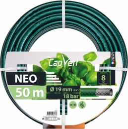 Tuyau d'arrosage Neo 3 couches - 19 x 50 M - CAP VERT