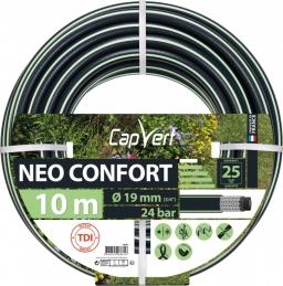 Tuyau d'arrosage Neo confort - 5 couches - 19 x 10 M - CAP VERT